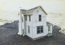 Miniature House for a Film