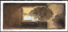 """Interior Cloud Using Colors of the Daguerreotype"""
